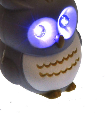 Owl Light Up Hooting Keychain - Random Colours
