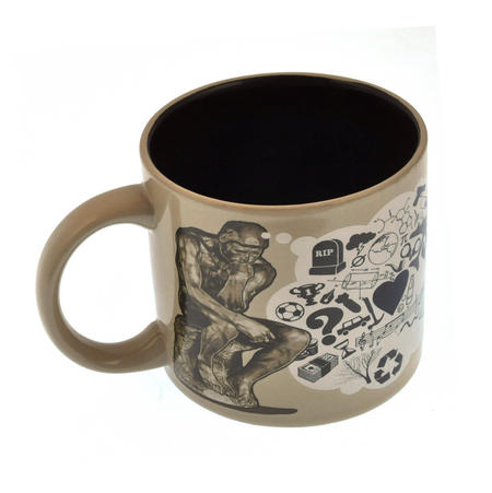 The Thinker Heat Change Coffee Mug