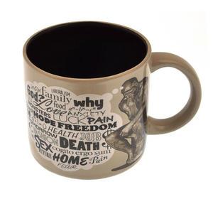 The Thinker Heat Change Coffee Mug Thumbnail 3