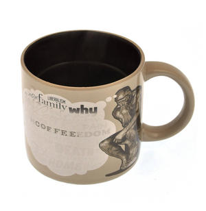 The Thinker Heat Change Coffee Mug Thumbnail 4