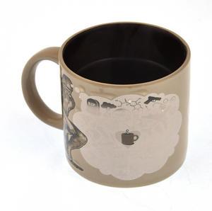 The Thinker Heat Change Coffee Mug Thumbnail 5