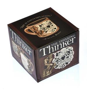 The Thinker Heat Change Coffee Mug Thumbnail 6