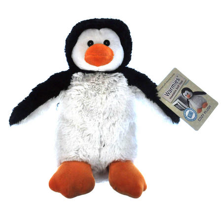 Cozy Plush Penguin - Warmies Microwavable Soft Toy