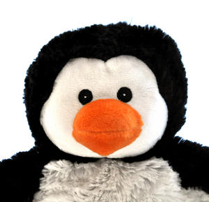 Cozy Plush Penguin - Warmies Microwavable Soft Toy Thumbnail 2