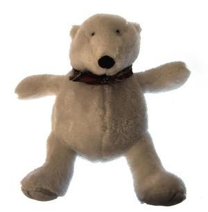 Cozy Plush Polar Bear - Warmies Microwavable Soft Toy Thumbnail 2