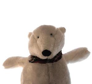 Cozy Plush Polar Bear - Warmies Microwavable Soft Toy Thumbnail 3