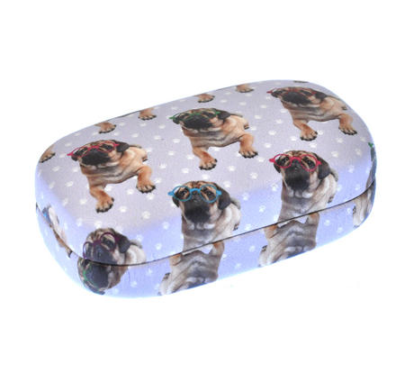 Pugs in Specs Jewellery / Contact Lens Case