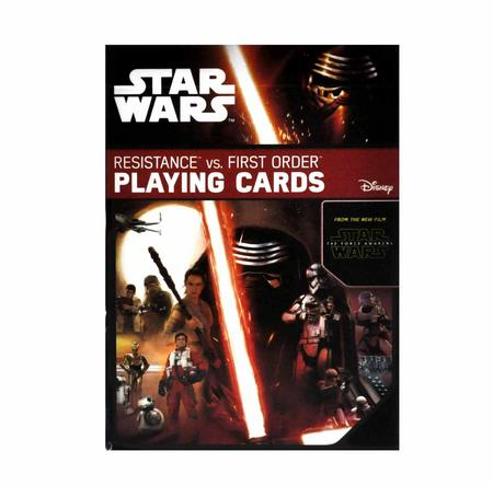 Star Wars - Resistance vs. First Order Playing Cards