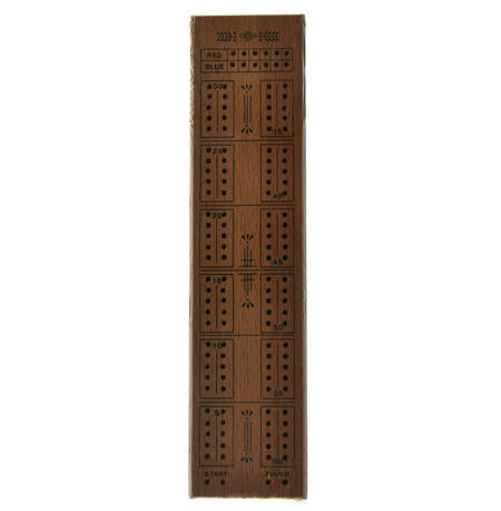 Cello Cribbage Board Deluxe Wooden Set