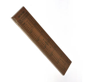 Cello Cribbage Board Deluxe Wooden Set Thumbnail 2