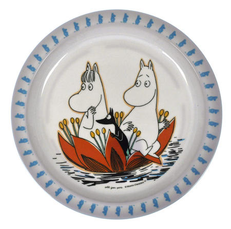 Moomin Baby Plate - Waterlily