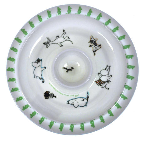 Moomin Egg Cup Plate