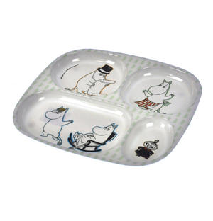 Moomin 4 Compartment Dinner Tray Thumbnail 2