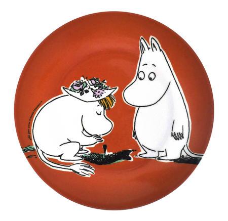 Moomin Orange Dessert Plate - Discovery