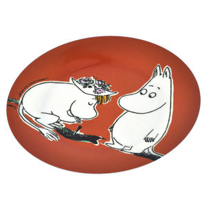Moomin Orange Dessert Plate - Discovery Thumbnail 2