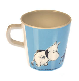 Moomin Small Mug - Blue - Scarf