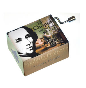 "Chopin in a Box - ""Grande Valse Brillante""  Handcrank Music Box Thumbnail 2"