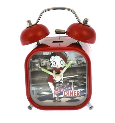 Betty Boop Diner Alarm Clock