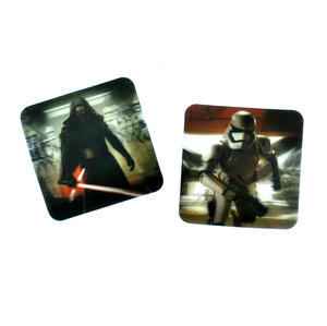 Star Wars 3D Coasters - 8 Different Lenticular Designs Thumbnail 3