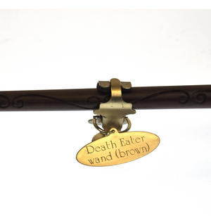 Harry Potter Replica Brown Death Eater Wand Thumbnail 8