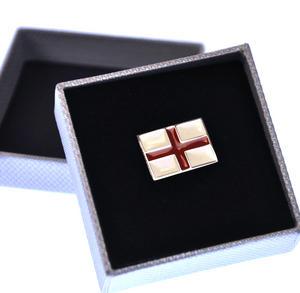 St George Cross Flag Enamel Lapel Pin Thumbnail 2