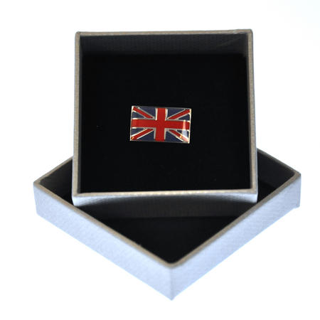 Union Jack British Flag Enamel Lapel Pin
