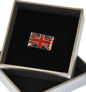 Union Jack British Flag Enamel Lapel Pin Thumbnail 3