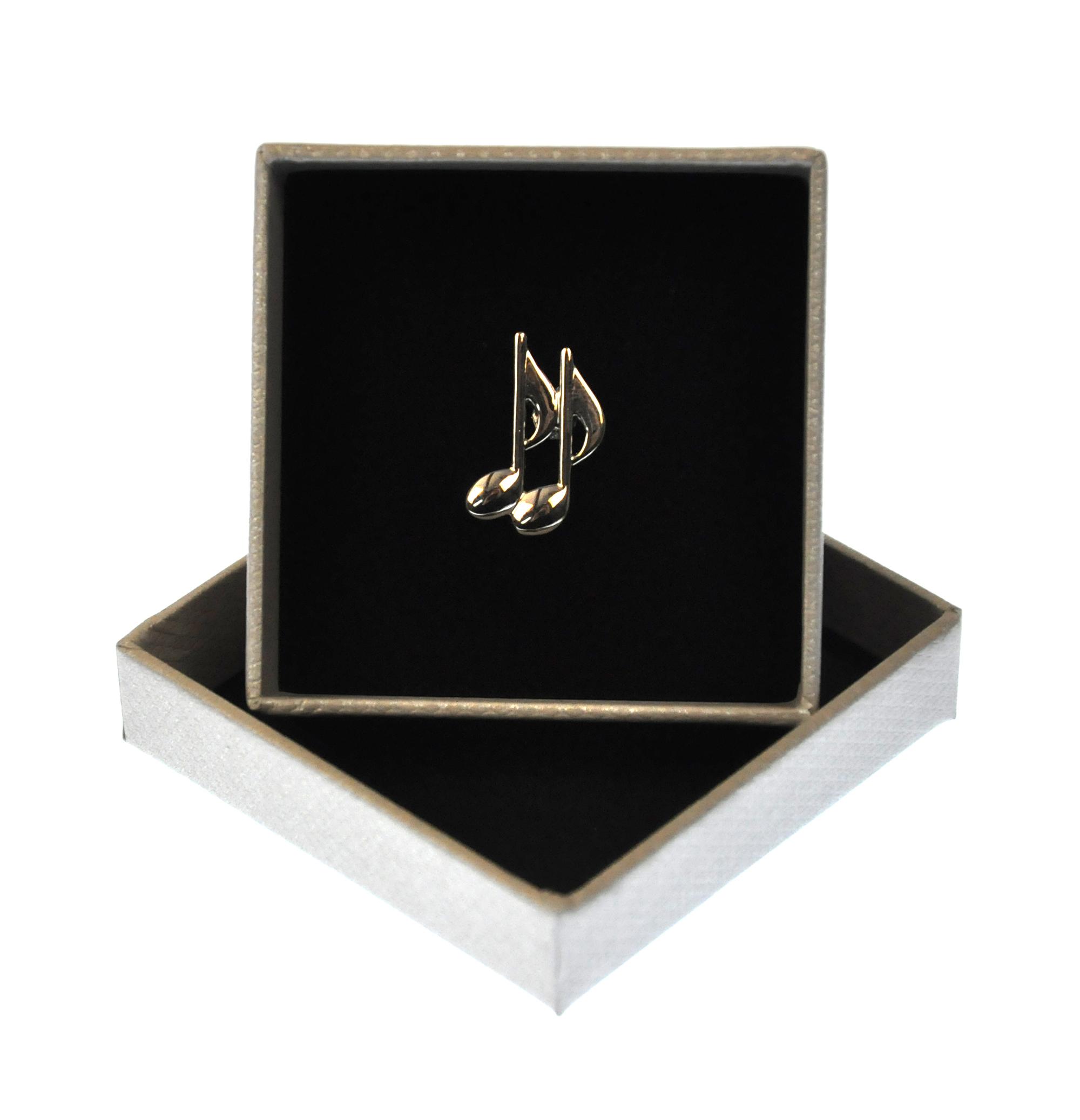 Music Quavers Lapel Pin