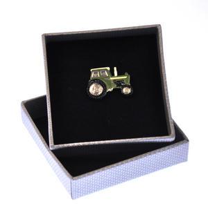 Tractor Enamel Lapel Pin Thumbnail 1