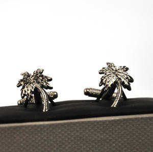Cufflinks - Palm Trees Thumbnail 2