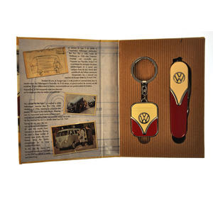 Volkswagen Camper Deluxe Combo Utility Penknife and Keyring Set Thumbnail 6