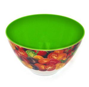 Cherry Tomatoes - Parabolic 22cm Diameter Melamine Bowl Thumbnail 2