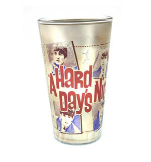 Beatles Metallic Pint Glass Set- 4 Classic Art Psychedelic Glasses Thumbnail 8