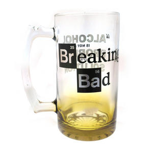 Breaking Bad Giant 2.5 Pint Beer Glass - Alcohol is Not the Problem. It is a Solution 2kg / 4.4lb Thumbnail 2
