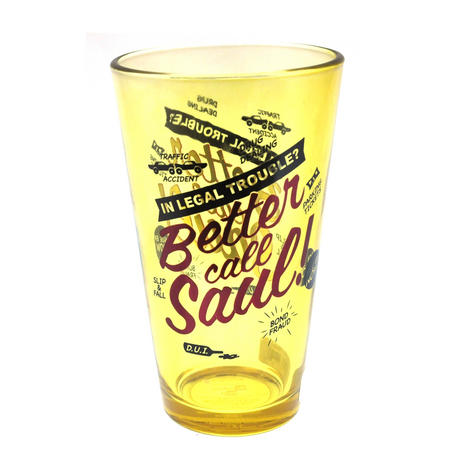 Better Call Saul Metallic Pint Glass