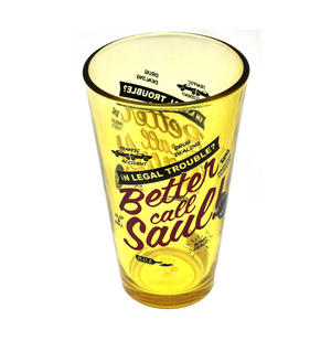 Better Call Saul Metallic Pint Glass Thumbnail 2