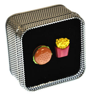 Cufflinks - Burger and Fries Thumbnail 1