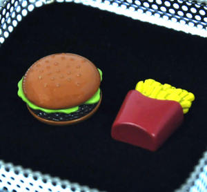 Cufflinks - Burger and Fries Thumbnail 2