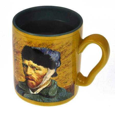 Vincent Van Gogh Disappearing Ear Heat Change Mug