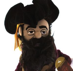 Blackbeard Soft Toy - Little Thinkers Doll Thumbnail 2