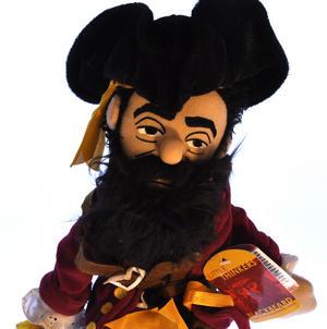 Blackbeard Soft Toy - Little Thinkers Doll Thumbnail 3