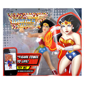 Wonder Woman Figz Justice League Apple & Android Action Figure - Comes to Life with App! Thumbnail 1