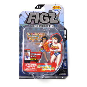 Wonder Woman Figz Justice League Apple & Android Action Figure - Comes to Life with App! Thumbnail 4