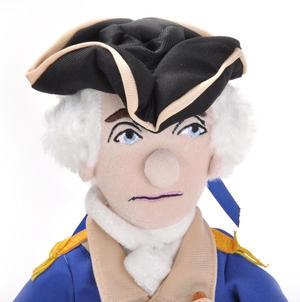 George Washington Soft Toy - Little Thinkers Doll