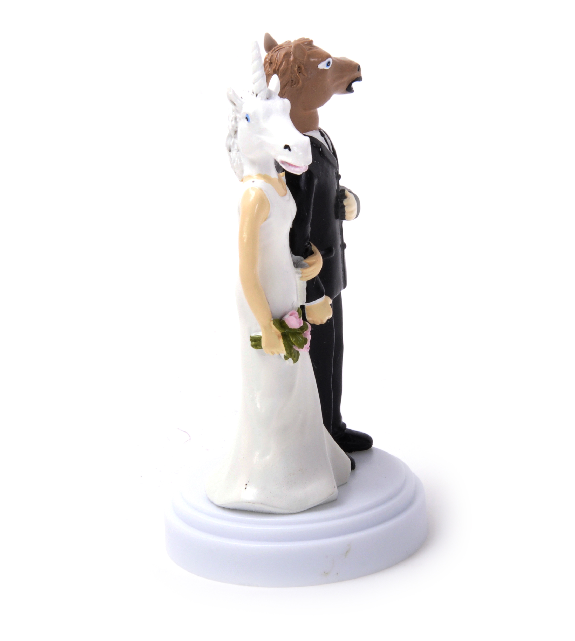 unicorn horse wedding cake topper unicorn and wedding cake topper pink cat shop 21417