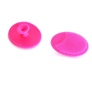 Shower Suction Cup Exfoliating Cleanse Pads x2  - with Bathroom Tile Suction Cup Thumbnail 3