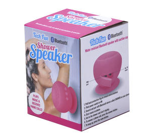 Shower Bluetooth Water Resistant Speaker - Plays Music & Receives Phone Calls - with Bathroom Tile Suction Cup Thumbnail 5