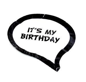 It's My Birthday / Yah! Double Sided Balloon - Balloontastic! Thumbnail 2