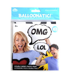 OMG / LOL! Double Sided Balloon - Balloontastic!