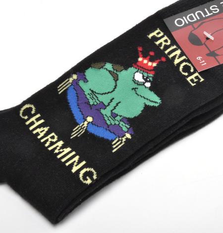 Prince Charming Frog Prince Socks